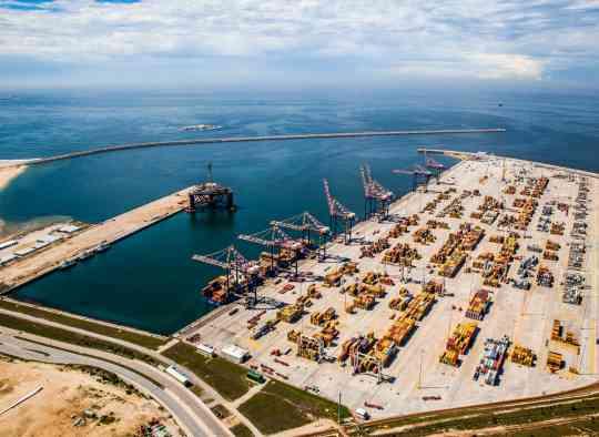 Coega Harbour - Port Elizabeth - South Africa